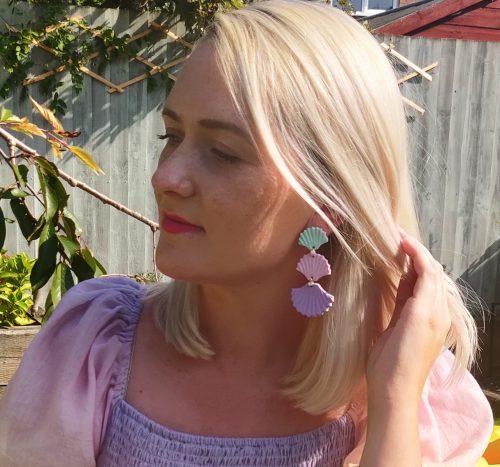 Olivia - Sustainably Handmade Polymer Clay Earrings