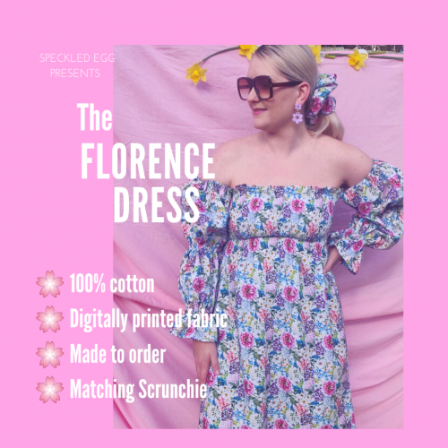 The Handmade Florence Dress by Speckled Egg