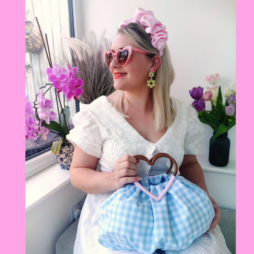 Styled: The Isla Bag in Forget-me-not Blue Gingham
